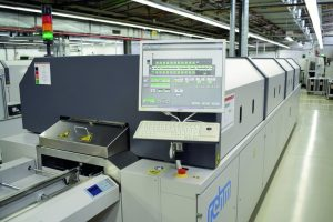 Reflow soldering will contribute to improve energy efficiency.