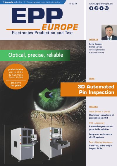 Titelbild EPP EUROPE Electronics Production and Test 4