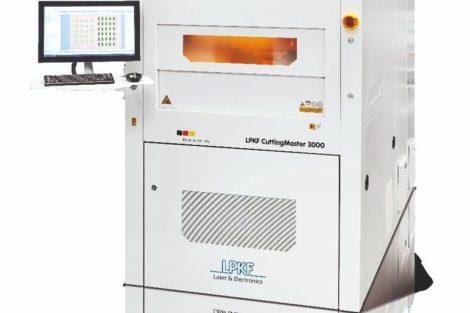CuttingMaster 3000 laser depaneling