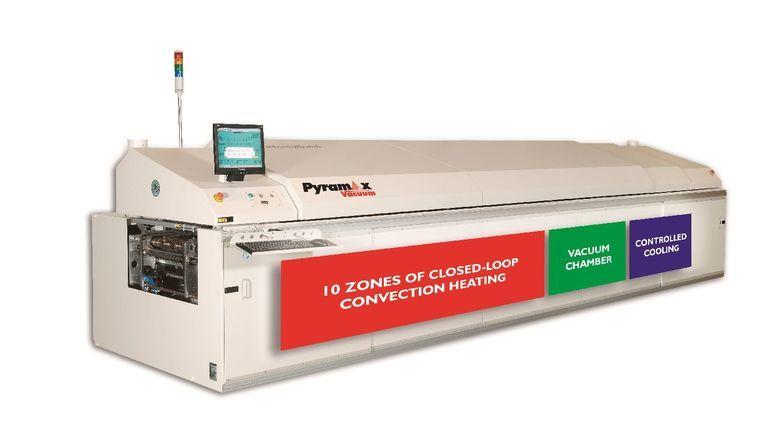 BTU Pyramax vacuum reflow oven