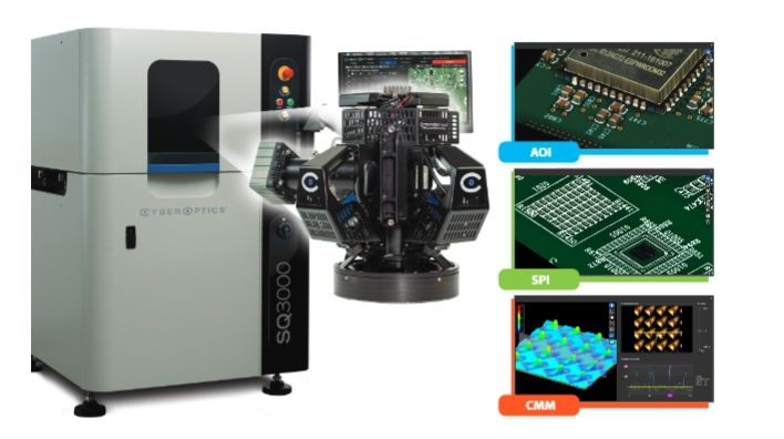 CyberOptics's SQ3000 multi-function system with MRS sensor technology