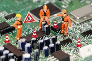 Electrolube failed PCB