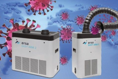 Ersa fume extraction units Easy Arm 1 and Easy Arm 2