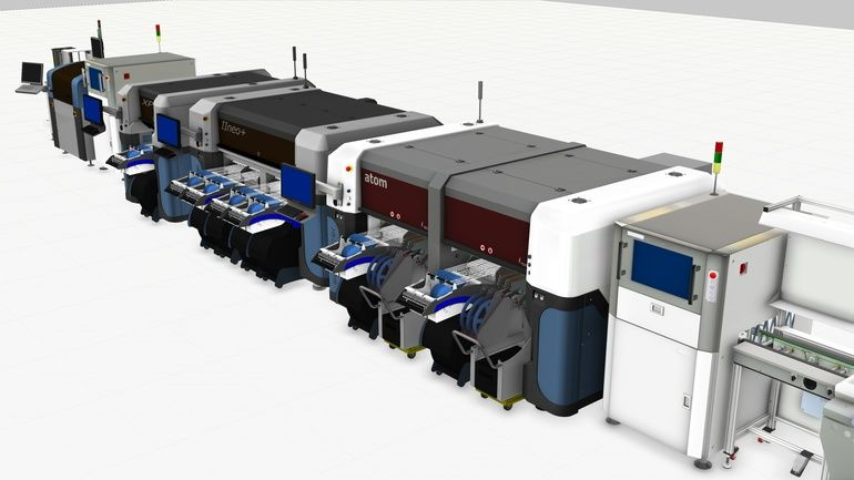 SMT line solutions from Europlacer