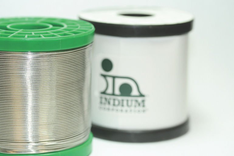 Indium Corporation CW-232 flux-cored wire