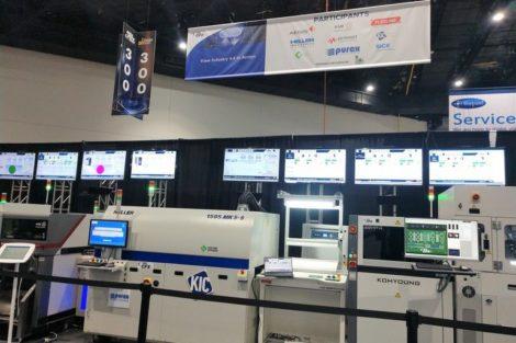 CFX line at IPC APEX Expo