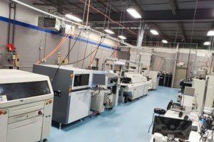 PCBX manufacturing floor