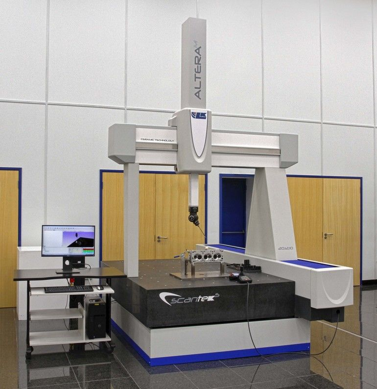 The Altera range of coordinate measuring machines from LK Metrology