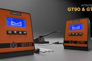 Metcal GT90 and GT120 soldering systems