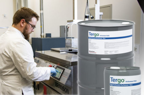 MicroCare Tergo vapor degreasing cleaners