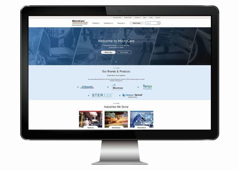 MicroCare new website
