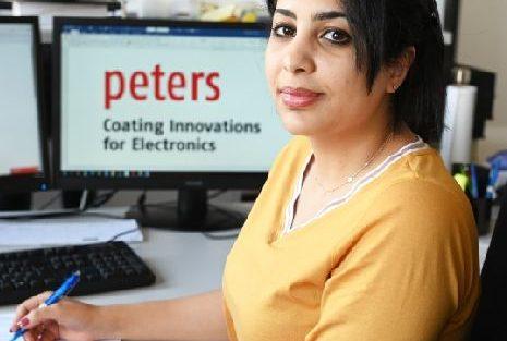 Baraa Al-Jumaili Peters apprenticeship