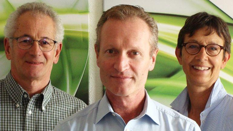 Lackwerke Peters: Armin Poschung, Daniel Langenstein, Priska Wyss