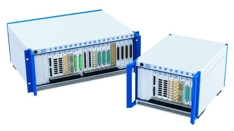 Pickering Interfaces 8 and 18-slot PXIE chassis