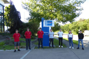 Seven trainees at Rehm Thermal Systems