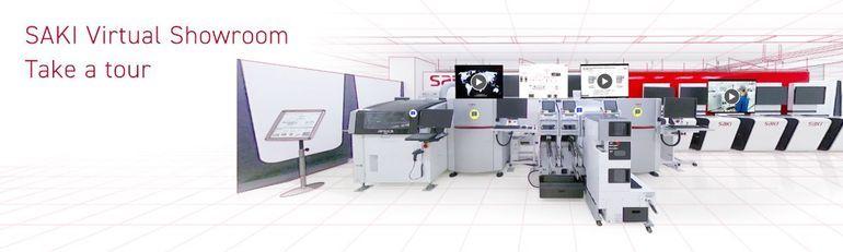 Saki Corporation virtual showroom