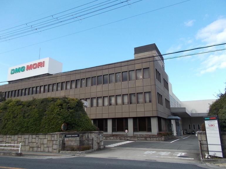 Saki's manufacturing plant in Japan