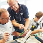 Trainings held to provide soldering license