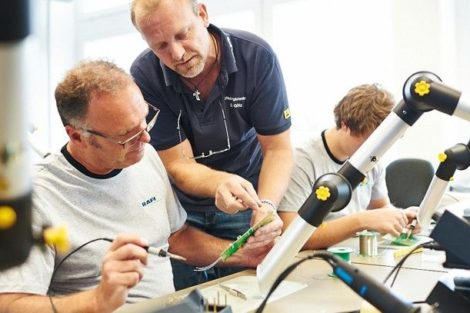 Trainings held to provide soldering license