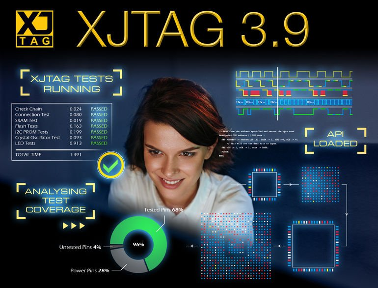 XJTAG 3.9 software