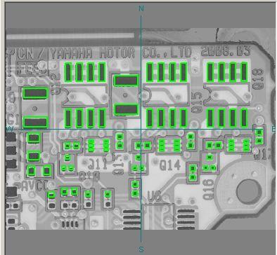 Yamaha YSP solder paste printer