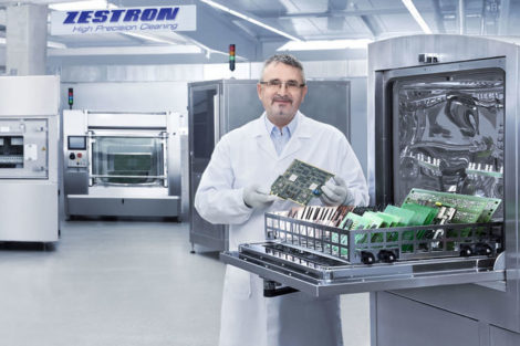 Zestron cleaning chemistries at productronica
